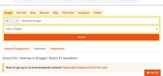 Keywordtool.io YouTube  keyword research tool