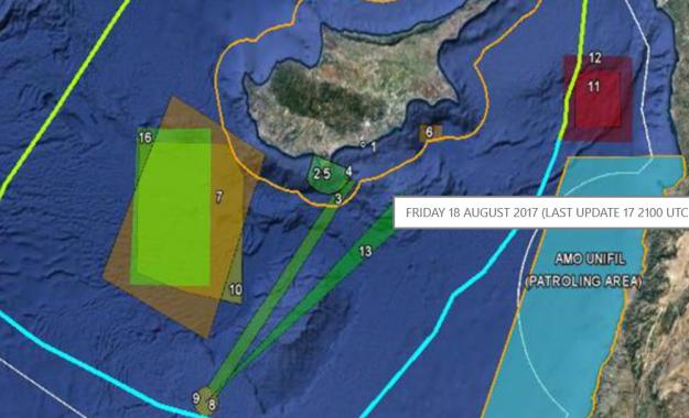 Επικίνδυνος συνωστισμός στην κυπριακή ΑΟΖ, μετά τη νέα πρόκληση της Άγκυρας