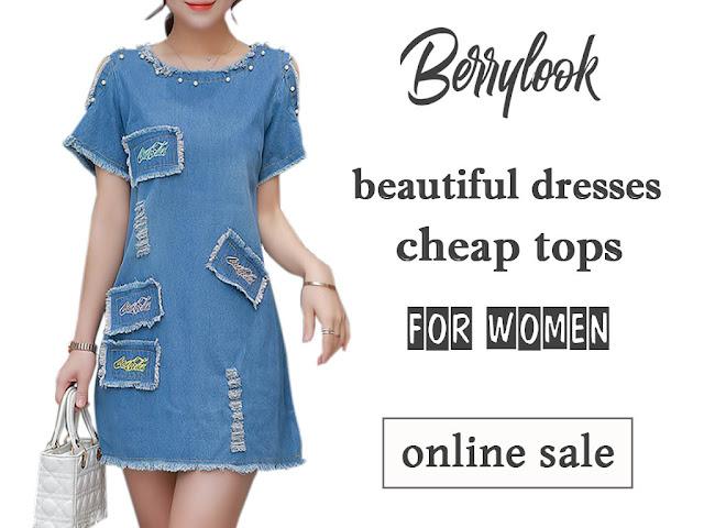 Berrylook недорогие платья и топы в интернет-магазине модной женской одежды