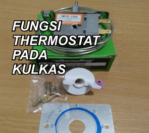 fungsi thermostat kulkas
