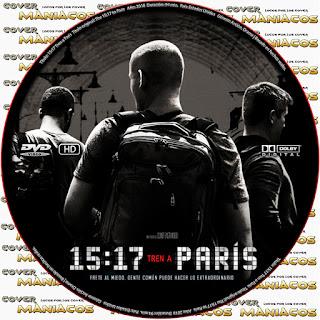 GALLETA15:17 TREN A PARIS - THE 15:17 TO PARIS 2018