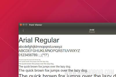 Menambah Font Microsoft di Ubuntu