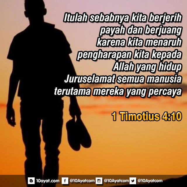 1 Timotius 4:10