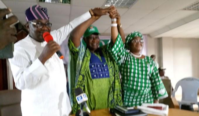 Ogun State ADC Unveils Isiaka's Running Mate