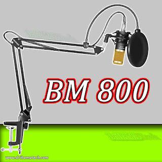مراجعة ميكروفون احترافي و رخيص BM 800