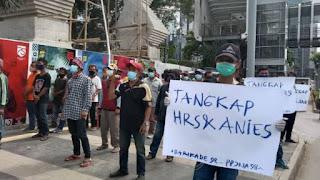 Terbongkar, Orang-orang Istana di Balik Demo Minta HRS dan Anies Ditangkap