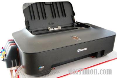 Cara reset printer Cannon IP 2770 karna error 5B00 dengan software Resetter