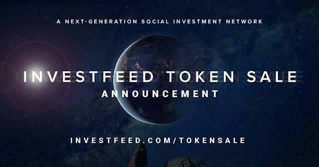 InvestFeed social network media blockchain technology