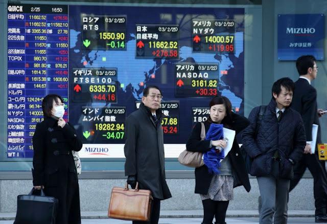 Mercados de Asia suben