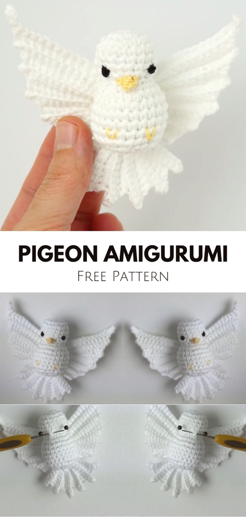 Lovely Pigeon Amigurumi - Crochet Tutorial