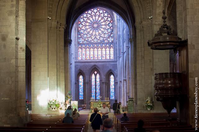 Catedral Saint-Malo imprescindibles Bretaña Normandía