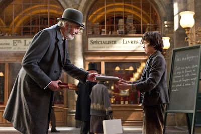 Hugo Christopher Lee and Asa Butterfield