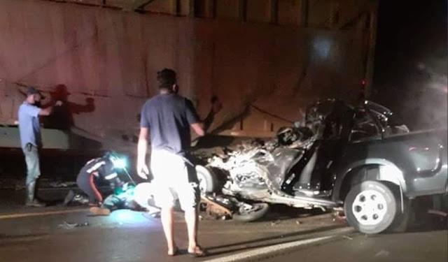 Acidente em Batatais-SP,  mata  três membros da mesma família com origem em Jussiape/BA