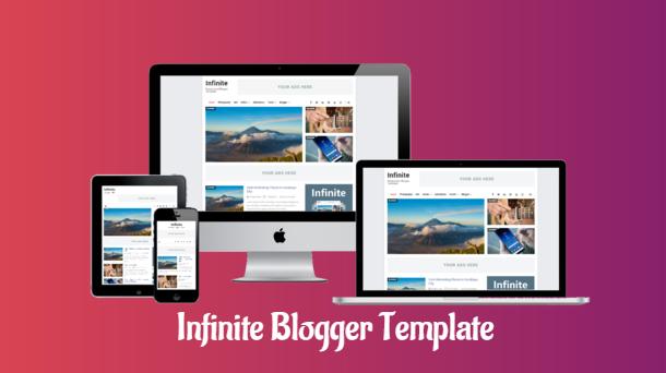 template infinite arlina gratis, download template infinite premium secara gratis