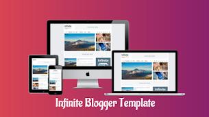 Infinite Responsive Premium Blogger Template - Responsive Blogger Template