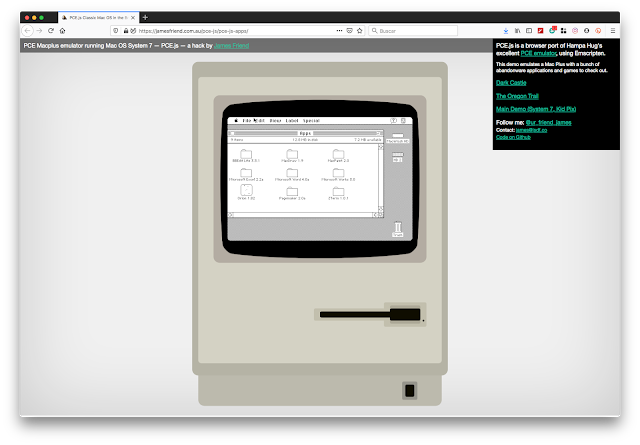 Original Apple Mac emulator