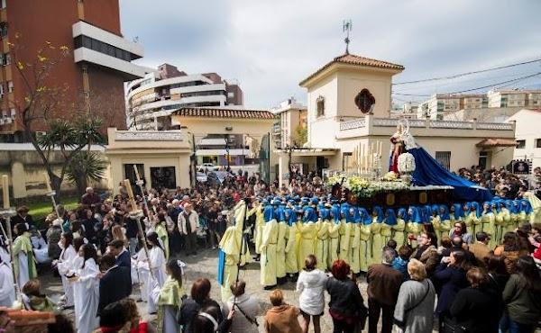 El Obispado de Málaga autoriza la procesión del colegio de Gamarra el Sábado de Pasión por la mañana