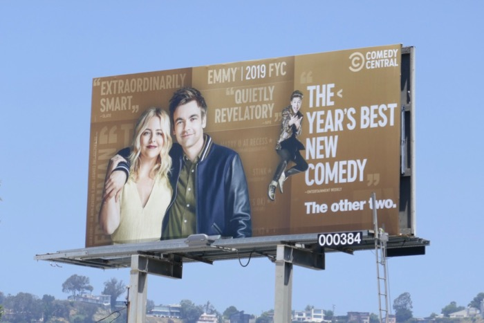 Other Two season 1 Emmy FYC billboard