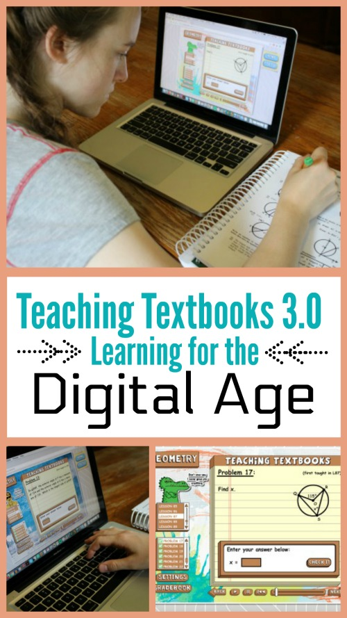 Teaching Textbooks 3.0: Learning for the Digital Age #homeschool #curriculum #math