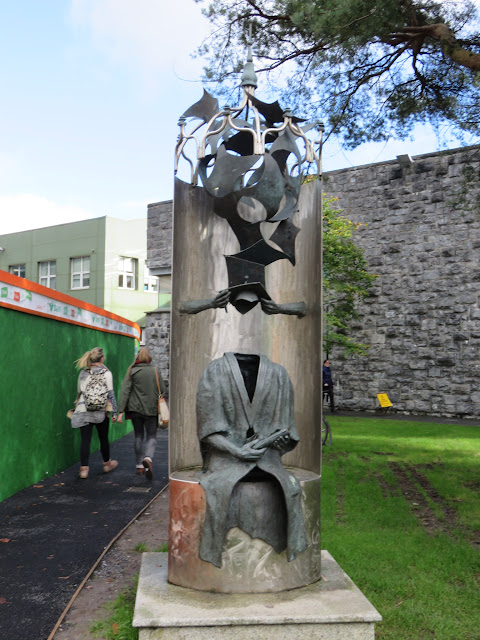 Best things about Galway - Metal Sculpture on the NUIG Campus
