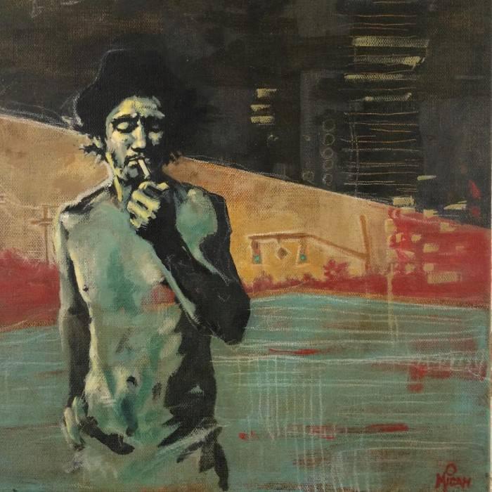 Американский художник. Micah Krock