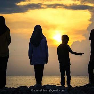 Satu Senja Di Tepian Pantai Kuala Kedah