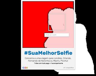 Promoção Sua Melhor Selfie Glamour
