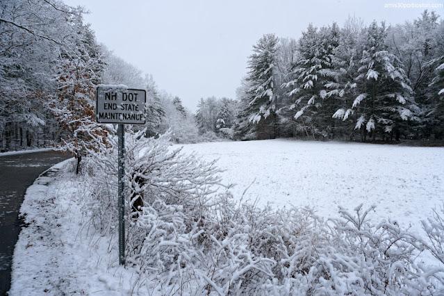 Paisajes de Invierno en New Hampshire