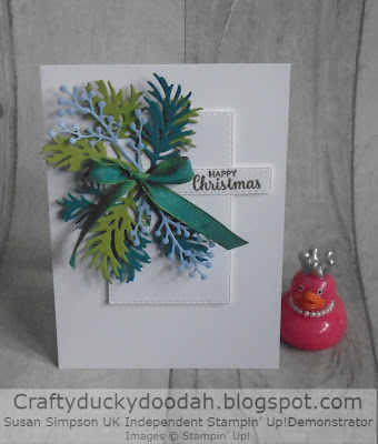 Craftyduckydoodah!, UK Independent Stampin' Up! Demonstrator Susan SImpson, Beautiful Boughs, Supplies available 24/7 in my online store, Christmas 2019,