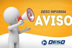 DESO esclarece matérias veiculadas sobre a Taxa de Religação