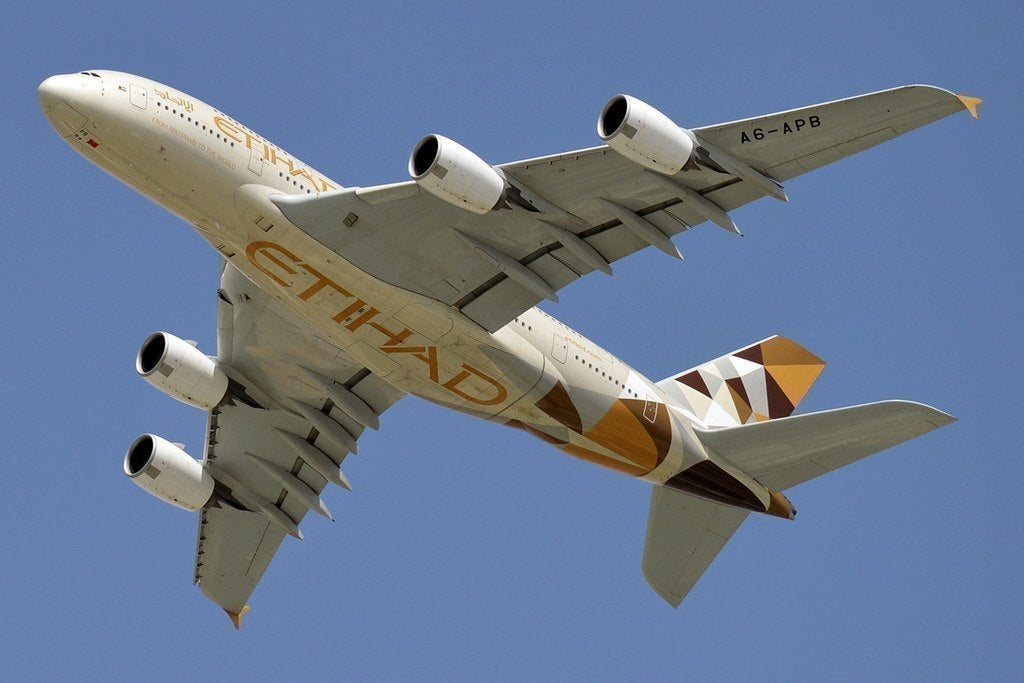 Etihad's Flight To Remain Grounded Until 16th May