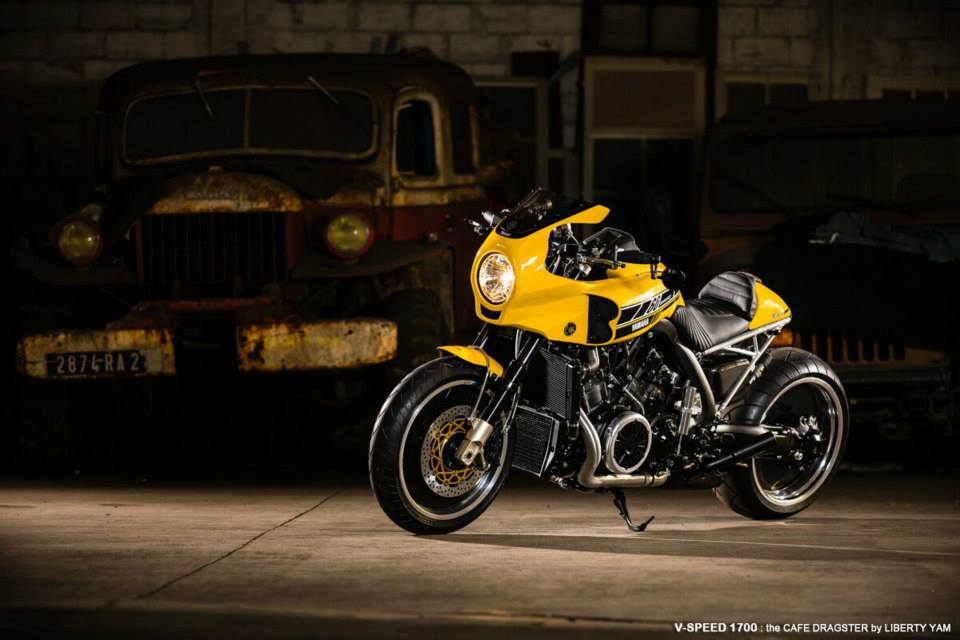 vmax 'the v-speed' - rocketgarage - cafe racer magazine