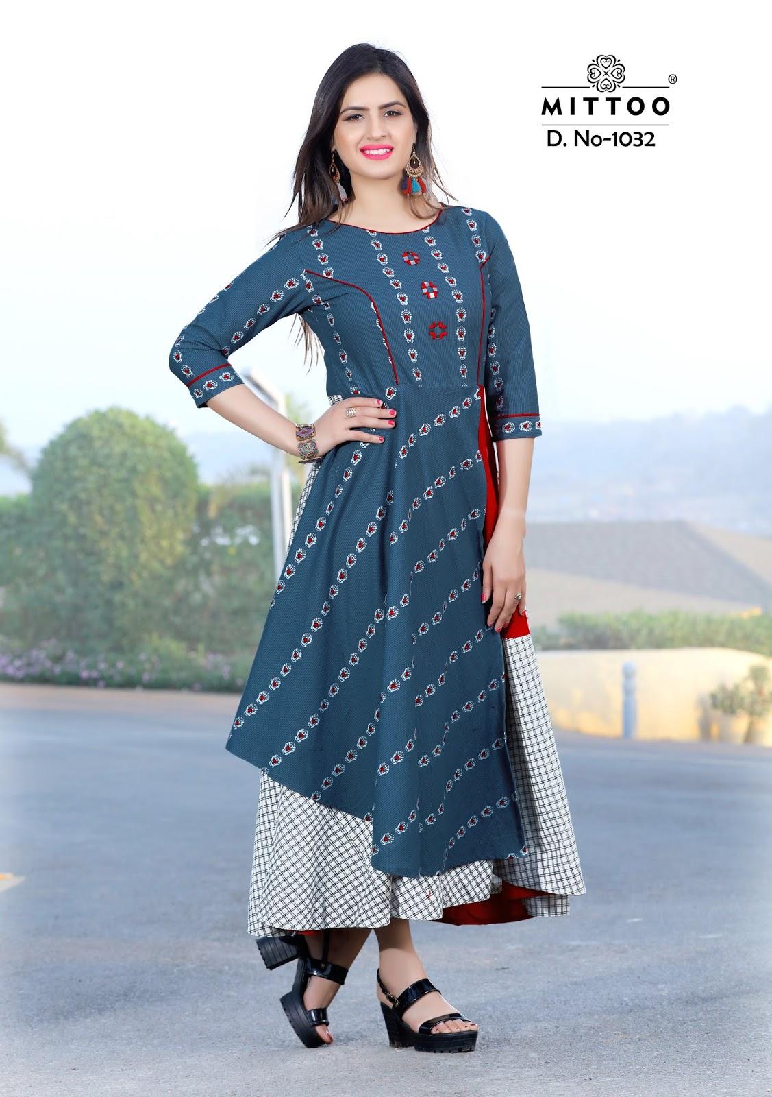3897c108ec Mittoo Kurti Catalog - A Kurti Brand by Khantil Group