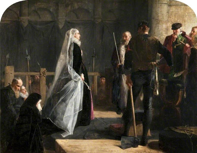 Robert Herdman: the Execution of Mary Queen Of Scots - Kelvingrove Art Gallery & Museum (Photo Glasgow Museums)