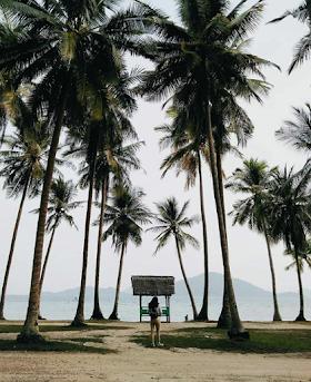 Jelajah Nusantara : Pantai ketapang lampung keindahan yang menenangkan