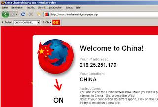 la censure chinoise