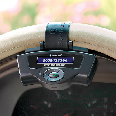 Steering Wheel Bluetooth Speakerphone
