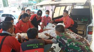 Kabupaten Batanghari Berduka Anggota Manggala Agni Yang Gugur Dalam Menjalani Tugas Terhadap Karhutla.