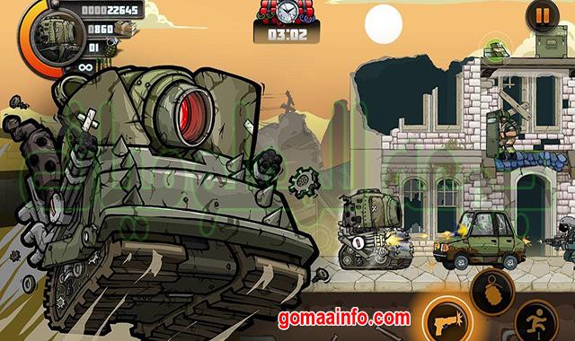 تحميل لعبة حرب الخليج الجديدة  Metal Soldiers 2 MOD v2.53  للأندرويد