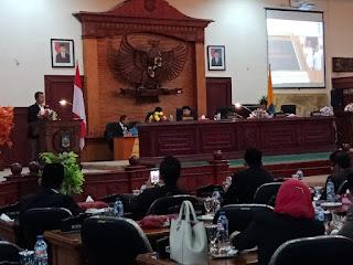 <b>Gubernur NTB Sampaikan Pengantar RPJMD 2018-2023 Dihadapan Rapat Paripurna Dewan</b>