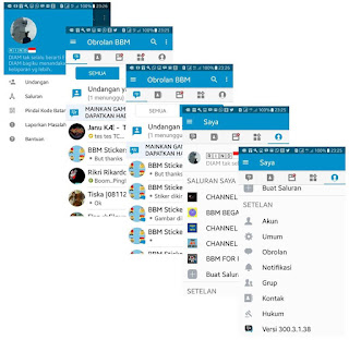 BBM BETA MOD CONNECTED V300.3.1.38 APK