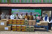 Bank Aceh Cabang Sabang Bantu Korban Kebakaran
