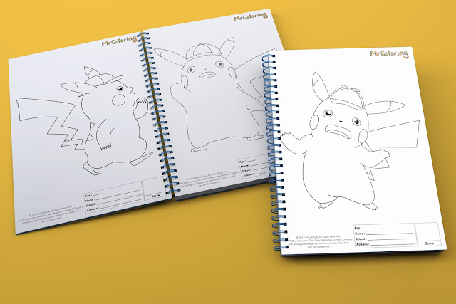 printable-Anime-detective-pikachu-pokemon-template-outline-coloriage-Blank-coloring-pages-book-pdf-pictures-to-print-out-for-kids-to-color-fun-colouring-sheets-preschool
