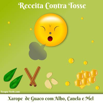 Receita Contra Tosse: Xarope de Guaco com Alho, Canela e Mel