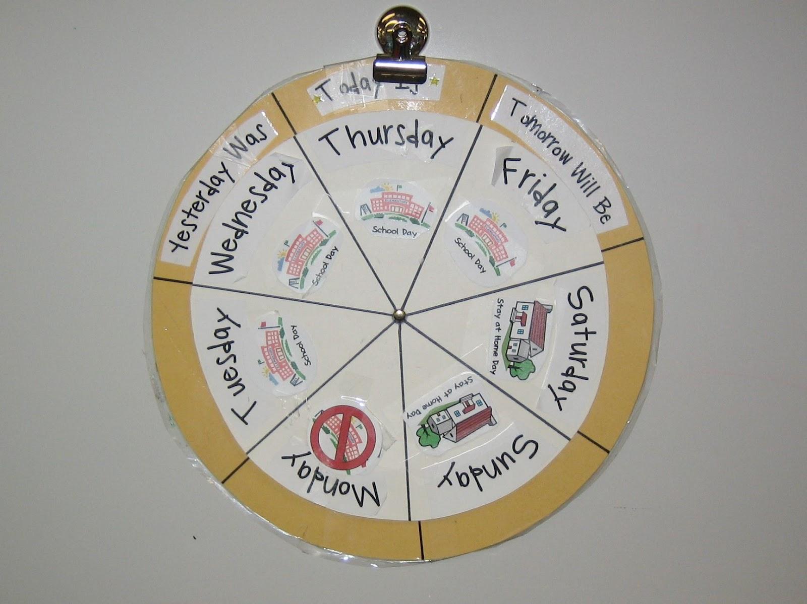 Using Calendars In Preschool Teaching The Little People
