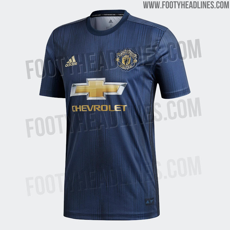 502a84ac6 Manchester United 18-19 Home, Away & Third Kits Leaked + All Release ...