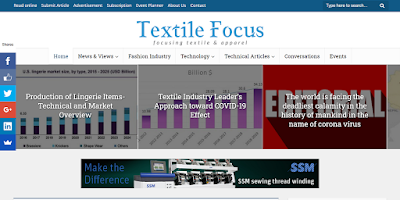 Top Listed Textile Blogs and Websites on the Web |  Textile Focus