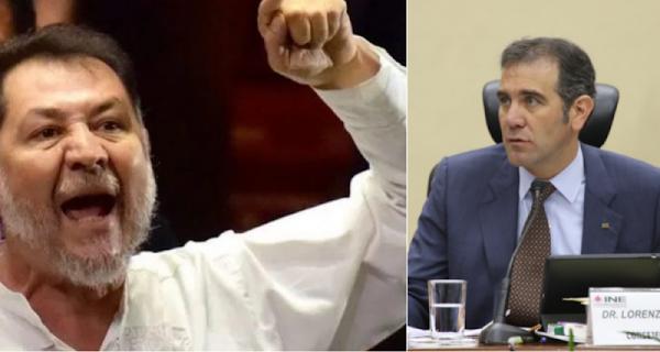 """""""El INE permitió delitos electorales en la elección"""", acusa Fernández Noroña"""