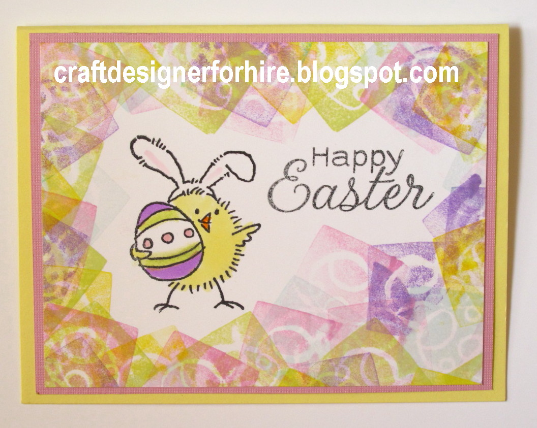 Free Easter Card Ideas Easter Craft Stamps