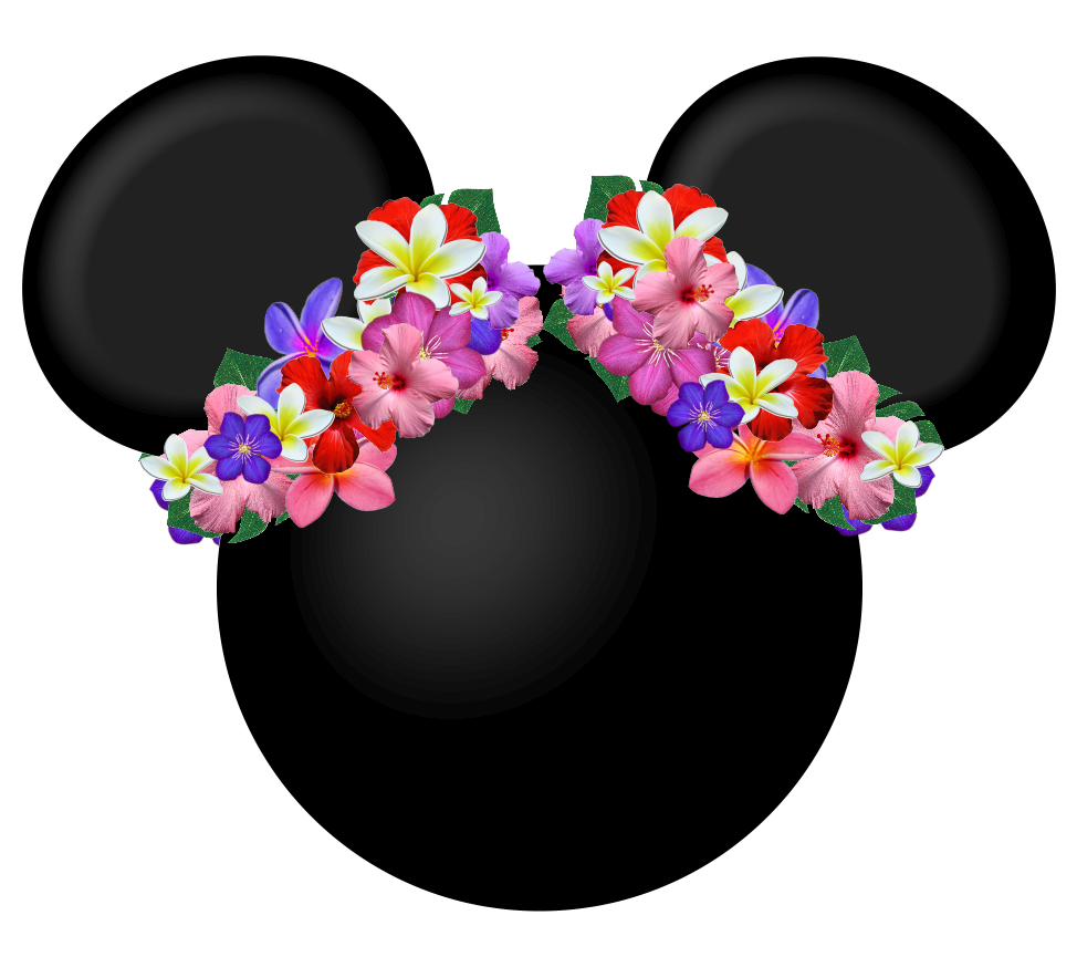 Mickey Heads Hawaiian Style Oh My Fiesta In English